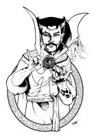 Doctor Strange by ayelid