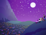 Night Sky by Knadow-the-Hechidna