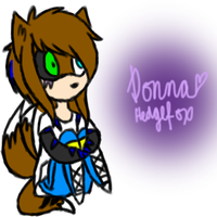 .:GIFT:. Donna Chibi by Fwooah