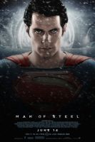 Man of Steel Poster #1 by MisterMerille