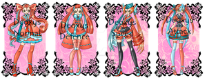 Deoxys Girls Adopts-OPEN by spiderliing666