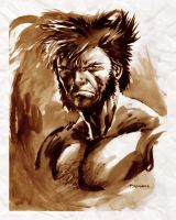 Wolverine sketch by ryanbnjmn