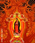 Fractal Guadalupe by ArtGhoul