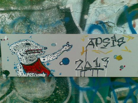 on the wall by The-APSIS