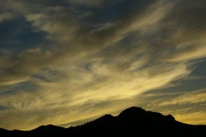 Yellow Sunset by PatGoltz