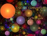 Fractal Elements II Calendar Front by wolfepaw