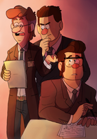 Mystery Agents Au ! by Blue-Sweet-tea