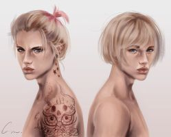 Armin's Twin by putemphasis
