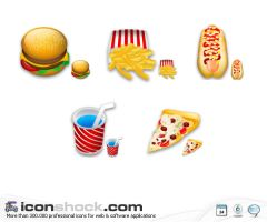 Food Icons by Iconshock