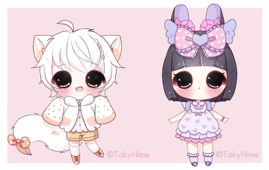 [R] Baby Chibis by TakyHime