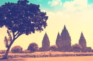 The Prambanan by njoelgraph
