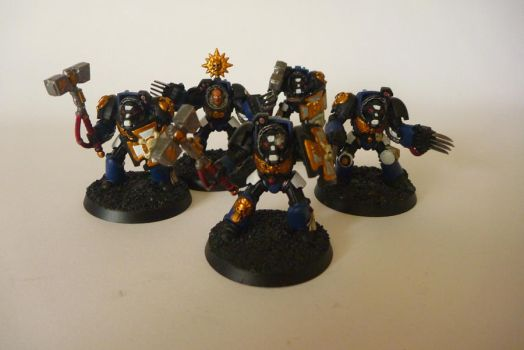 Space marine assault terminator squad by zingy180