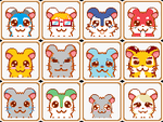 Hamtaro Contact list by Craf-TNuki