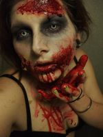 Zombie Kiss by itashleys-makeup