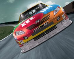 Kyle Busch, MM's Car Race by nascar3d