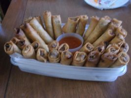 Lumpias by RockyRoxas13