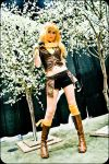 RWBY - Yang - Gold by oOMeroChanOo