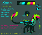 New Xenon Reference Sheet by Griwi