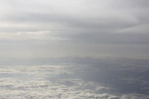 From Above - Clouds 10. by MystStock