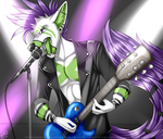 Commission: Rocking Hard by Blitzy-Arts