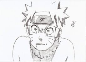 Naruto Shocked by D-raw-ing