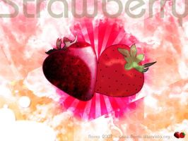 Strawberry by floina