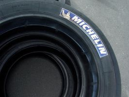 Race Tires, Abstract by Azraphale
