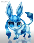 =Pokemon= Chibi Glaceon by LeoKatana