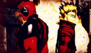 DP And Vash by BrandiSwick227