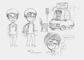 Asian Student by zienta