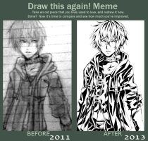 Meme  Before And After-shira by KaNoir