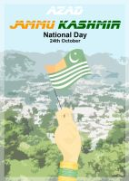 Azad JammuKashmir National Day by ArsalanKhanArtist