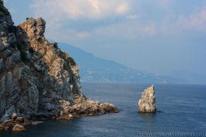 Crimea coast. Summer 2015 by yuryudjin