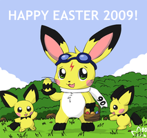I'm the Easter Bunny by pichu90