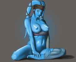 Aayla Secura by Dream4Live