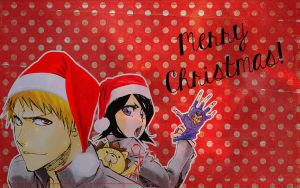 Merry Christmas - Wallpaper IchiRuki by Erian-7