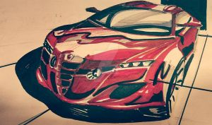 Alfa concept by madsparkairbrush