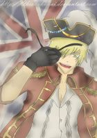 APH : Pirate Arthur by TheShakunai