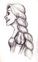 Realistic Rapunzel by MiaMeadows