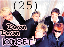 +25+ Duran Duran Icons by lonelyisourlives