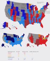Primaries as of April 19th 2016 by 00Snake