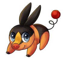 Tepig Jump by Amphany