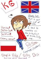 Stupid Brit and Silly Pole by raveness918
