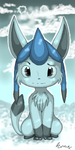 Glaceon -PWO Banner Contest-:: by pieon