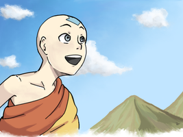 Aang by VanillaSkyWolf