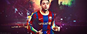Xavi by Ghazwi-Mohamed