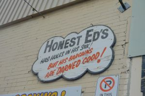 Honest Ed's #3-Honest Ed's Saying #2 by Neville6000