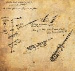 hidden blade blueprint part 2 by Kudrik