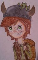 HTTYD book- Hiccup and Tothless by Thetruffulacupcake