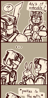 Fanfic art - Petrobunnies of Doom by shibara-draws-mecha